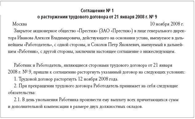 Доп соглашение к договору рк образец