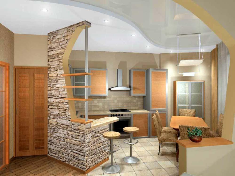 Кухни угловые Модерн (41 фото дизайн своими руками) 23