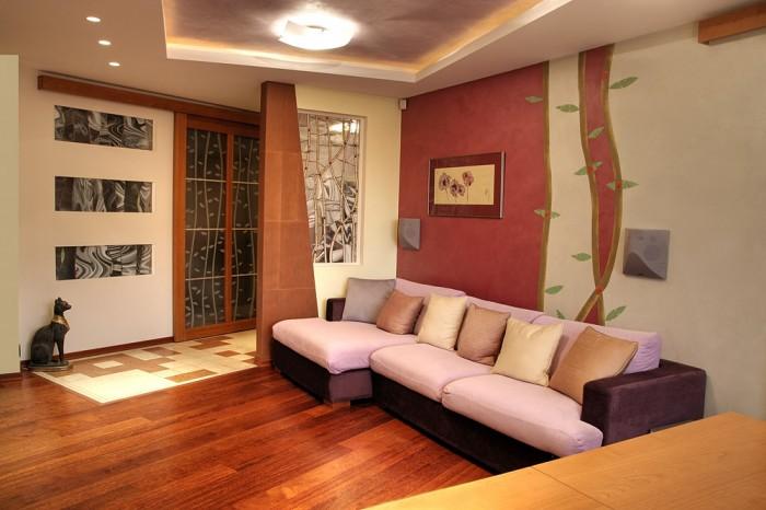 Простой дизайн зала в квартире фото