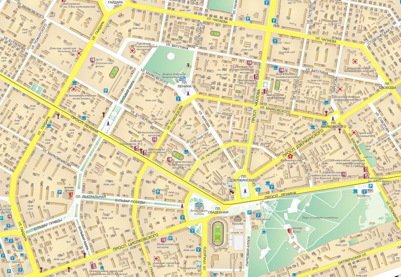 найти города с знаком